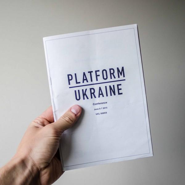 Platform Ukraine Conefernce Programme
